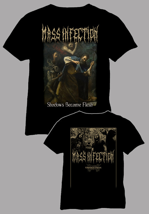 Mass Infection - Shadows Became Flesh SHIRT, Comatose Music